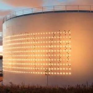 Medição de silos